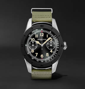 Montblanc Summit 46mm Two-Tone Pvd-Coated Stainless Steel And Rubber Smartwatch
