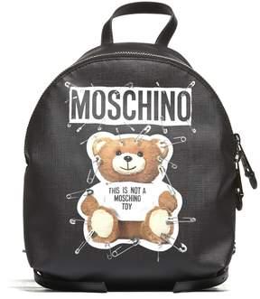 Moschino Teddy Logo Backpack