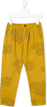 Bobo Choses pleated detail trousers