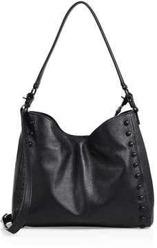 Loeffler Randall Women's Mini Studded Leather Shoulder Bag