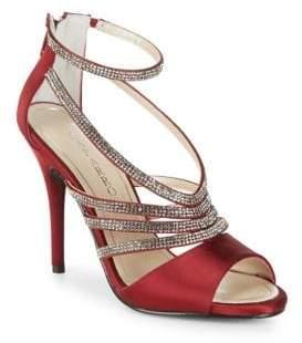 Caparros Judith Satin Stiletto Sandals