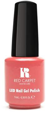 Red Carpet Manicure LED Gel Polish - Coral Wishes