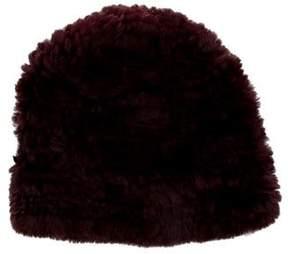 Rebecca Minkoff Knitted Fur Beanie