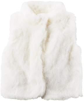 Carter's Girls 4-8 Faux Fur Vest