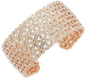 Adriana Orsini Women's Anise Crystal Wide Cuff Bracelet