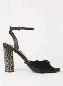 Dorothy Perkins Black 'Bella' Heeled Sandals