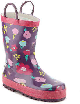 Western Chief Girls Lovely Floral Toddler & Youth Rain Boot