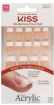 Kiss Salon Acrylic French Nail Kit