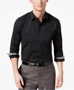 Kenneth Cole New York Men's Mini Geo-Print Pocket Shirt