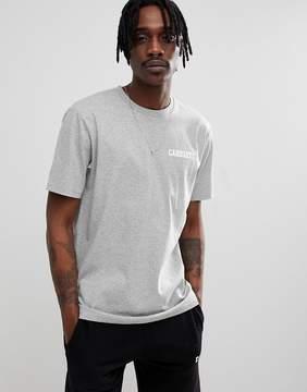 Carhartt WIP College Script T-Shirt In Gray