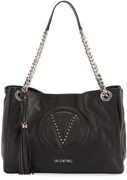 Mario Valentino Valentino By Verra Sauvage Leather Shoulder Bag