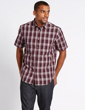 Marks and Spencer Easy Care Modal Rich Shirt