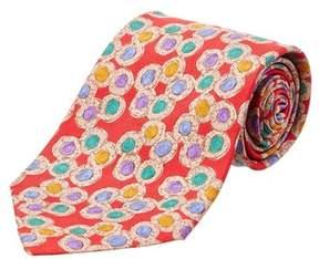 Chanel Silk Tie.