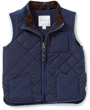 Starting Out Baby Boys 12-24 Months Quilted Zip-Front Vest