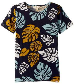 Appaman Kids Tropical Leaf Printed Tee Boy's T Shirt