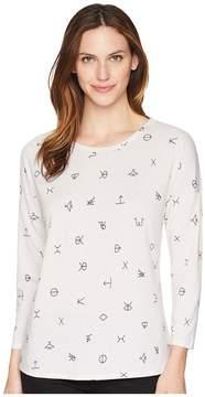 Wrangler Long Sleeve Knit Shirt Women's Clothing