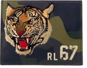 Ralph Lauren Camo Leather Card Case