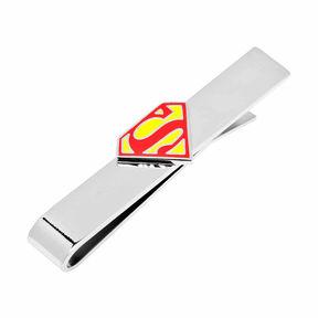 Accessories Enamel Superman Shield Tie Bar