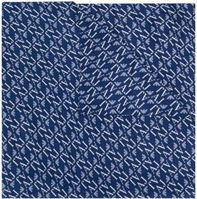 Armani Jeans patterned scarf