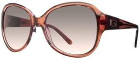 GUESS Women's Oval Logo Sunglasses GU7260
