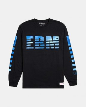 Ubiq M&N x x Wale EBM Long Sleeve Tee (Black)