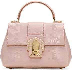 Dolce & Gabbana Pink Medium Lucia Bag