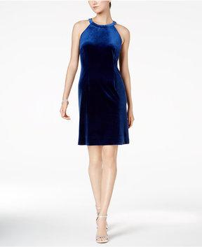 Nine West Velvet Sheath Dress