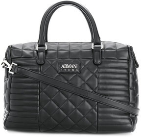 Armani Jeans quilted tote