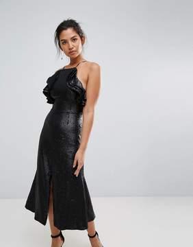 C/Meo Collective Collective Sequin Midi Dress