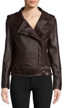 Bagatelle Belted Biker Jacket