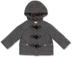Marie Chantal Baby Boy Grey Duffle Coat - Baby