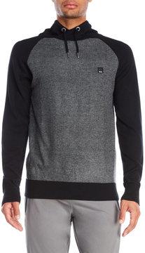 Bench Textured Knit Funnel Neck Sweatshirt