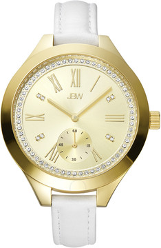 JBW Aria Gold-tone Case Gold-tone Diamond Dial Ladies Watch