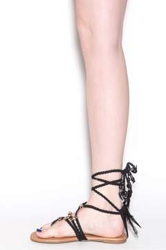 Liliana Aries Laceup Sandals