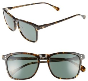 Raen Men's Wiley 54Mm Sunglasses - Brindle Tortoise