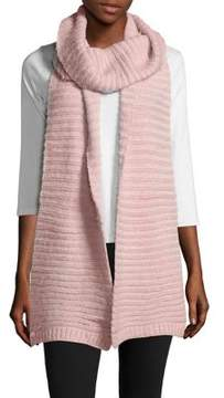 BCBGeneration Feather Rib-Knit Scarf