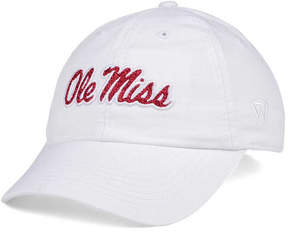 Top of the World Women's Ole Miss Rebels White Glimmer Cap