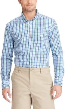 Chaps Big & Tall Easy Care Stretch Plaid Shirt