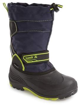 Kamik Snowcoast Waterproof Snow Boot (Toddler & Little Kid)