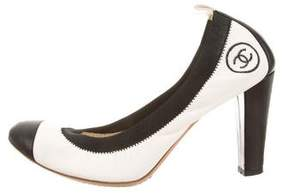 Chanel CC Stretch Spirit Pumps