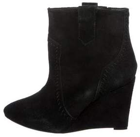 Rebecca Minkoff Suede Wedge Boots