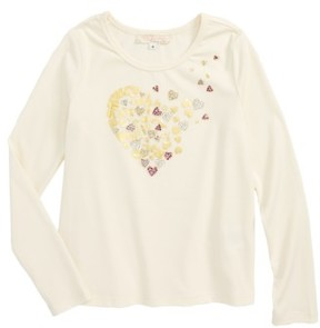 Truly Me Toddler Girl's Heart Graphic Tee