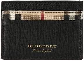 Burberry Haymarket Card Holder