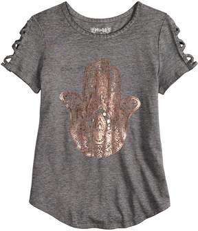 Mudd Girls 7-16 & Plus Size Short Sleeve Graphic Tee