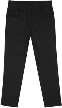 Chaps Girls 4-16 School Uniform Twill Ankle Pants