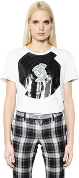 Each X Other Record Printed Cotton Jersey T-Shirt