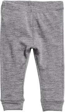H&M Wool Jersey Leggings - Gray