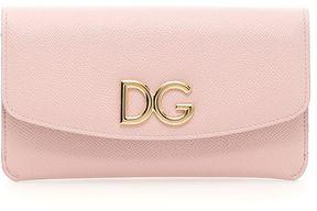 Dolce & Gabbana Dauphine Continental Wallet - FIORI VARI FONDO NERO|ROSA - STYLE