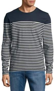 Selected Striped Cotton Sweater