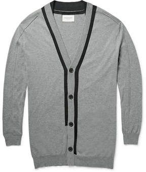 Public School Contrast-Trimmed Cotton, Silk And Cashmere-Blend Cardigan